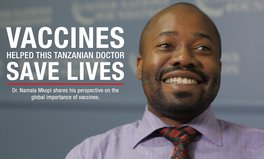 Video: This Tanzanian doctor knows why vaccines matter