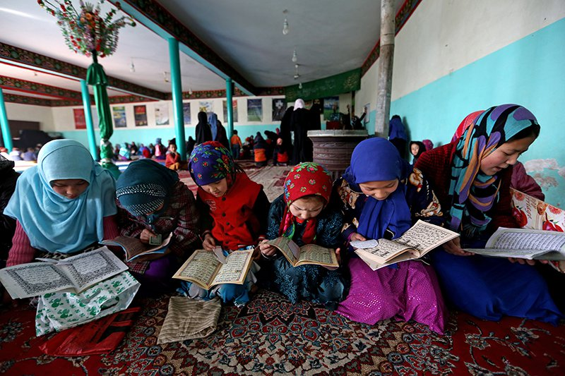 Afghan Girls School AP Photo/Rahmat Gul