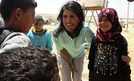 Article: US Will Still Be Top Donor of Refugee Aid in Trump Era, Nikki Haley Says