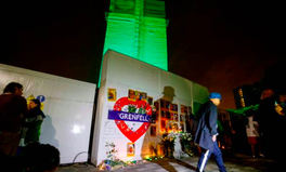 Article: London Buildings Turn Green for Grenfell on One Year Anniversary of the Tragedy