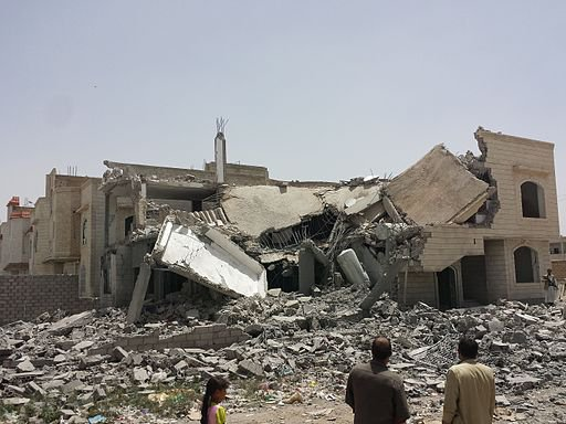 Destroyed house in the south of Sanaa.jpg