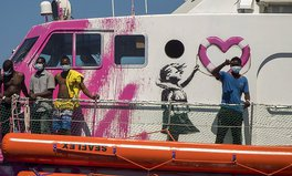 Article: UK Artist Banksy Has Funded a Migrant Rescue Boat Operating in the Mediterranean