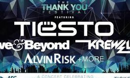 Article: Be the first to know about pre-sale tickets for the Thank You Festival