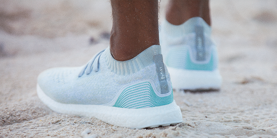 Adidas Shoes Made From Ocean Plastic Are Finally Here. It's no secret that  the oceans are filled with plastic. Adidas is doing something about it.
