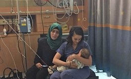 Article: Israeli Nurse Breastfeeds Baby of Injured Palestinian Woman