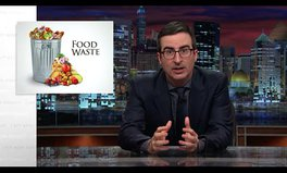 Video: John Oliver is fed up with food waste
