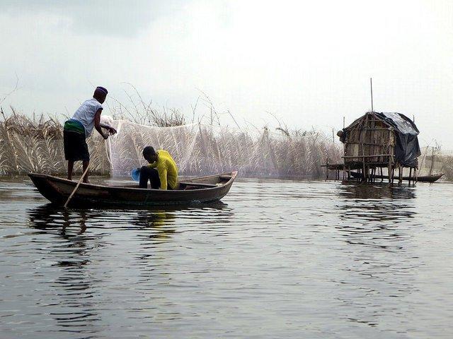 Fishermen in Benin