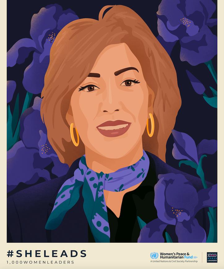Rania 1000WomenLeaders Portrait Ariel Sinha.png