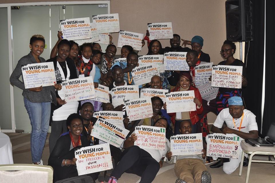 Reach a Hand Uganda signs