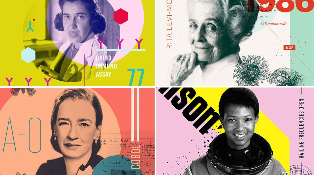 32 Posters of Badass Women in Science to Inspire Girls Today