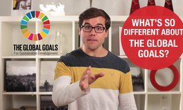 Video: What makes the Global Goals different?