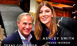 Article: Trans Woman Fights 'Bathroom Bill' with Smiling Selfie With Texas Governor