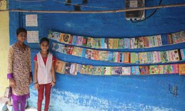 "Article: This 9-year-old girl inspires others after opening ""street library"" in India"