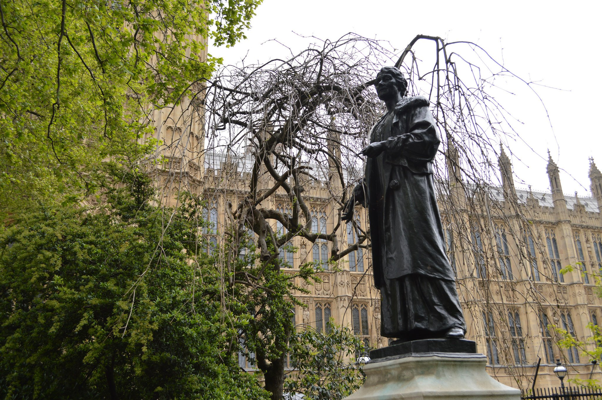 emmeline-pankhurst-statue-westminster-london-flickr