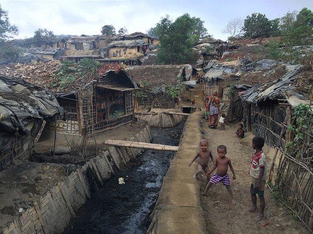 Rohingya settlement