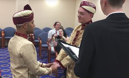 Article: Couple Made Famous for Being First Gay Muslim Wedding in UK Faces Acid Attack Threats