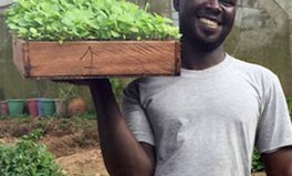 Article: Can Sustainable Farming Stop a Civil War? For Didier, a Refugee, It's a Start