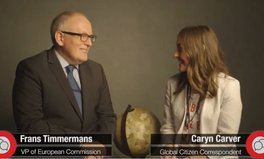 Video: Frans Timmermans on refugees, the Global Goals, and his vision for 2030