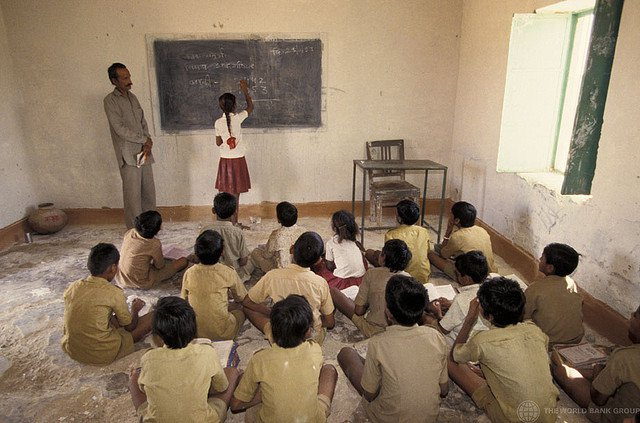 Classroom in India - World Bank