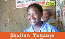 Article: Community health workers: Meet Shallon