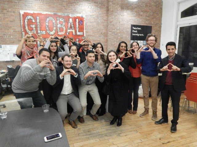Global Citizen Refugees Welcome Dinner