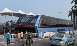 Article: These Crazy Buses Can Drive On Top of Traffic in China