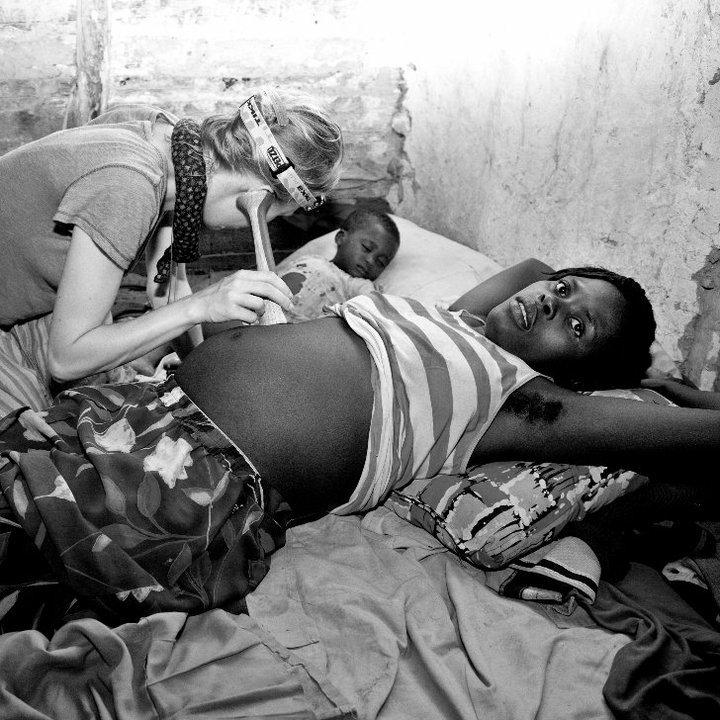 Aerlyn Pfeil performing prenatal exams. Photo- Aisha Harley.jpg