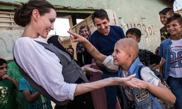 Article: Angelina Jolie Visits Syrian Refugees in Devastated Iraq Cities