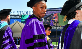 Article: Pharrell Williams to NYU Grads: 'We Need to Lift Women Up'