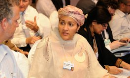 Article: Amina Mohammed takes on global water challenges