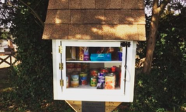 Article: 'Little Free Pantries' Pop Up Around the World to Help People Who Can't Afford Food