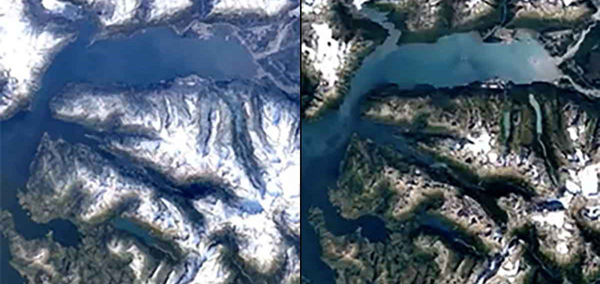 Google's 3D Time Lapse of Earth Shows Shocking Effects of Climate ...