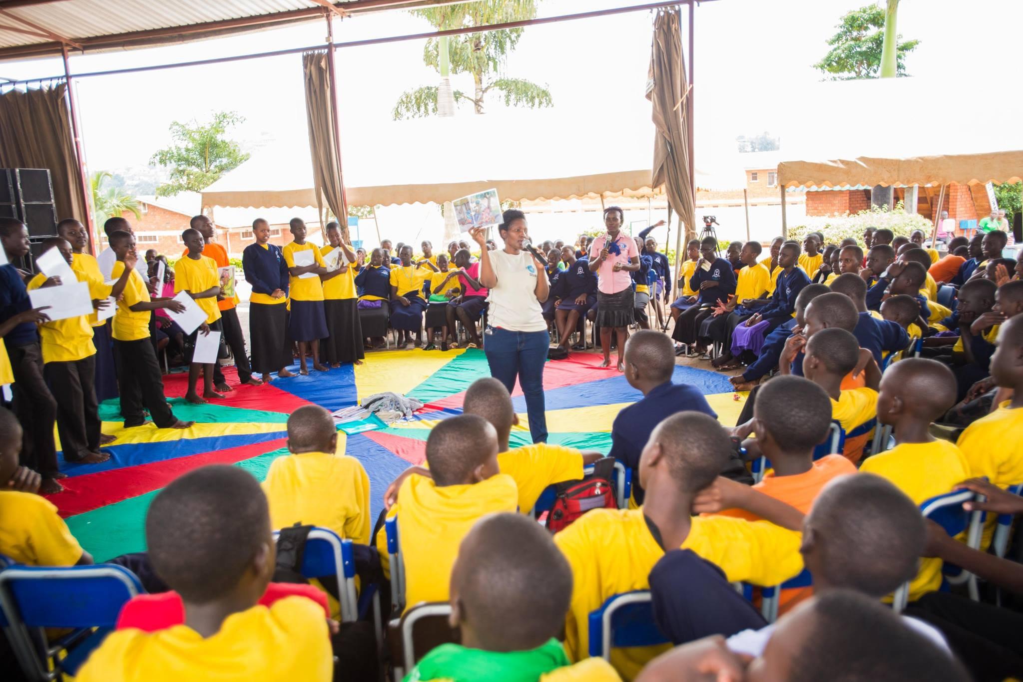 Reach a Hand Uganda event