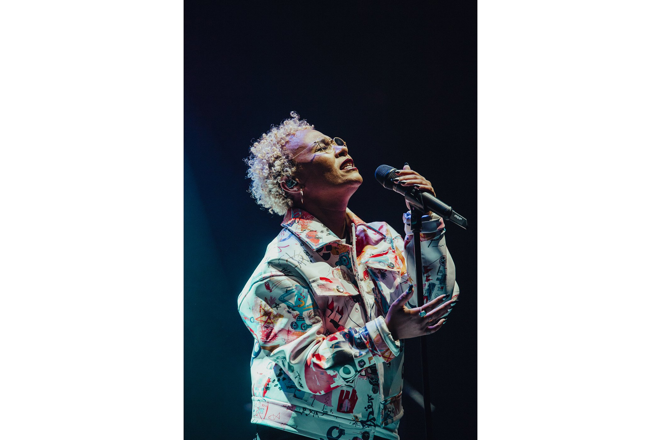 Emeli Sandé performs on stage for Global Citizen Live London, at the O2 Academy Brixton on April 17, 2018 in London, England.