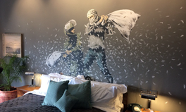 Article: Banksy's New Project Is a Bed and Breakfast in the West Bank