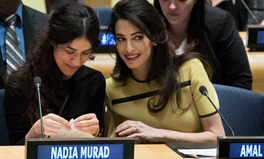 Article: Forget the 'Baby Bump' — Amal Clooney's UN Address Was Vital & Powerful