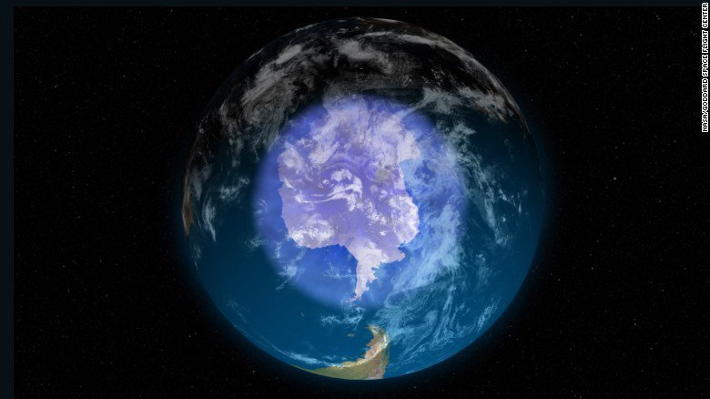 a research on the ozone of the earth What is the ozone layer ozone is a naturally occurring molecule containing three atoms of oxygen ozone molecules form a gaseous layer mostly in the upper atmosphere (the stratosphere) 15-30 km above the surface of the earth.