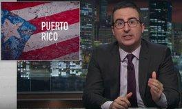 Video: John Oliver and Lin-Manuel Miranda tackle Puerto Rico's debt crisis, call for US action