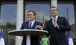 Article: Elton John and President Macron Just Called on the World to Raise $14B to Fight AIDS, TB, and Malaria