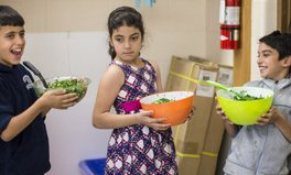 Article: How Making Tabbouleh Is Helping Syrian Refugee Kids Adjust to Life in Canada