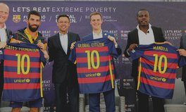 Article: FC Barcelona and Global Citizen just teamed up on poverty—here's an inside look