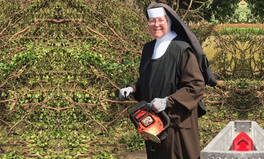 Article: This Nun With a Chainsaw Is Helping in Post-Irma Cleanup