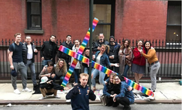 Article: Why New Yorkers Painted This Giant Cross in Rainbow Colors