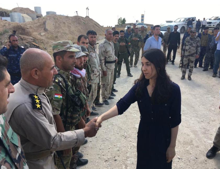 Nadia Murad Visits Yazidi Village