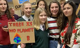 Article: Teen Climate Activist Warns of 'Human Cost' of Going Green