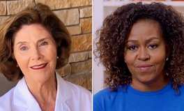 Artikel: Michelle Obama and Laura Bush Share Strength and Gratitude on 'One World: Together At Home'