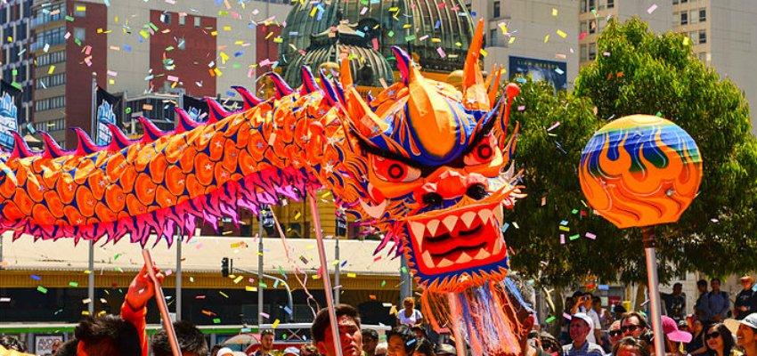 take a look at how these places ring in the lunar new year - Chinese New Year Celebration