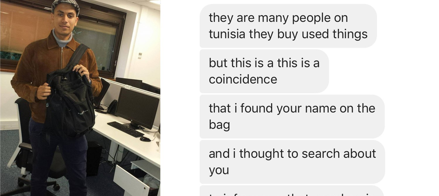 What I Learned About My Donated Stuff After I Got a Facebook Message From Tunisia