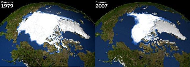 Arctic Ice Comparison