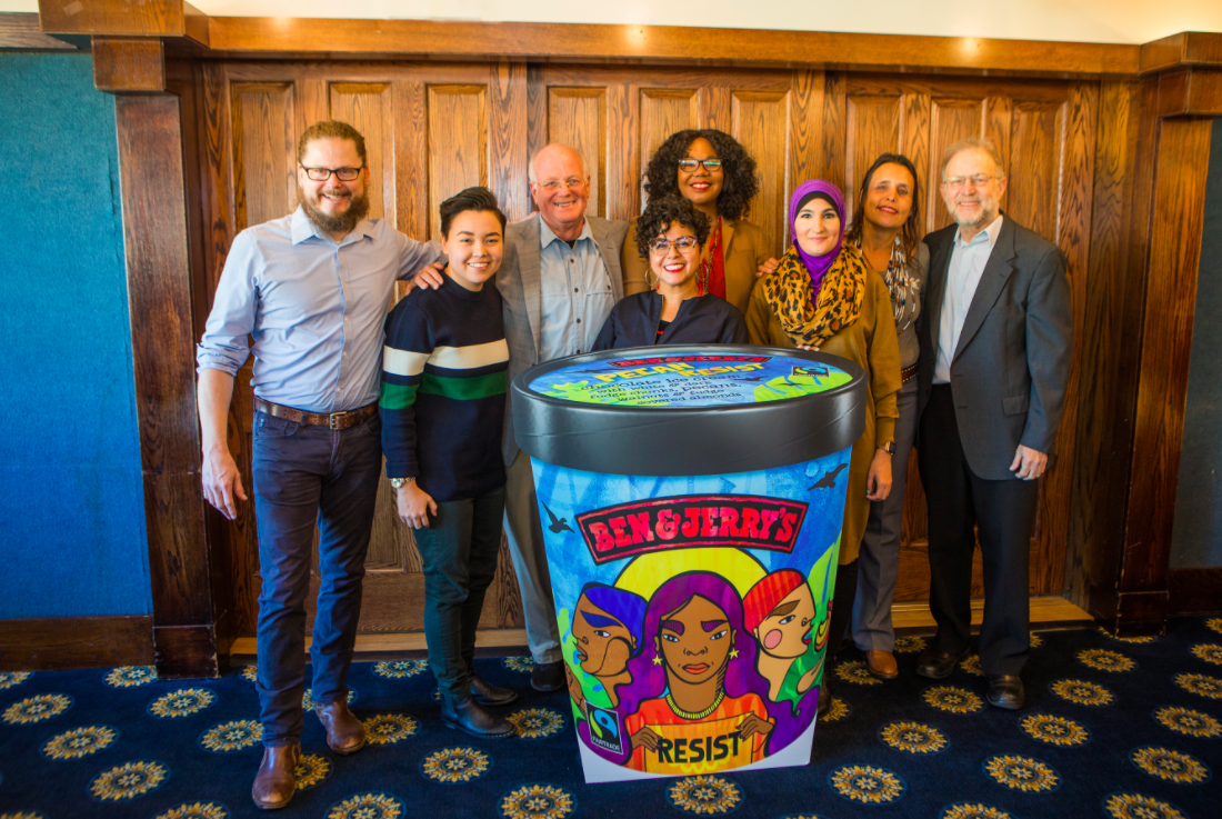 Ben & Jerry's activists ice cream.png